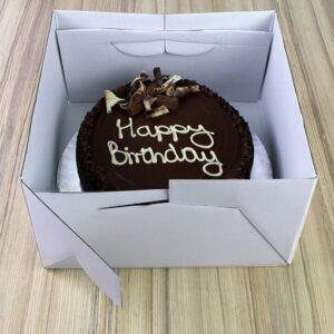 scatola quadrata per torta