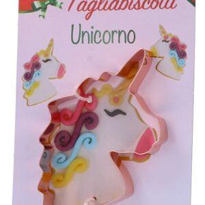 taglia biscotti unicorno