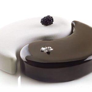 stampo ying yang per torte