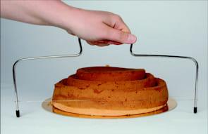 taglia torta in acciaio