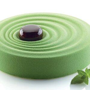 effetto spray velluto verde