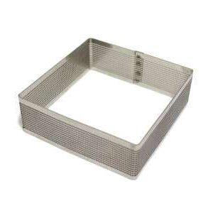 ring microforato quadrato per crostate