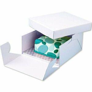 scatola porta torta con vassoio