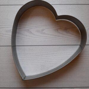 ring microforato forma cuore